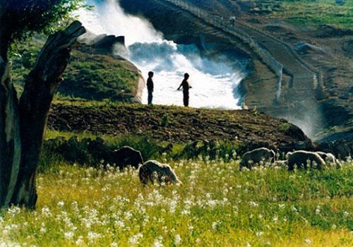 آبشار های زیبای تونل کوهرنگ